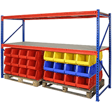 racking for a warehouse