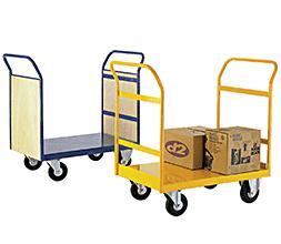 flat bed trolleys x2