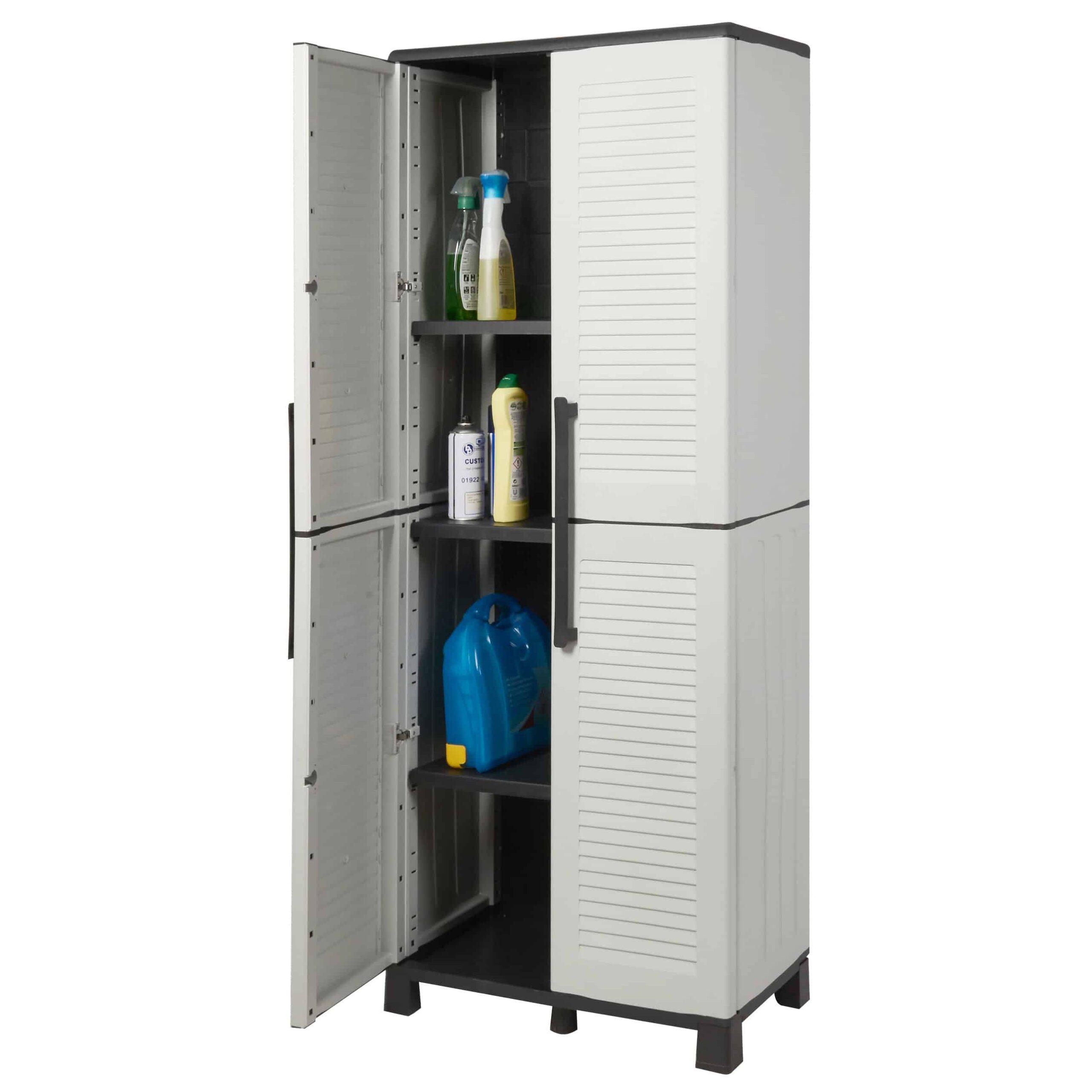 Plastic Utility Storage Cupboards