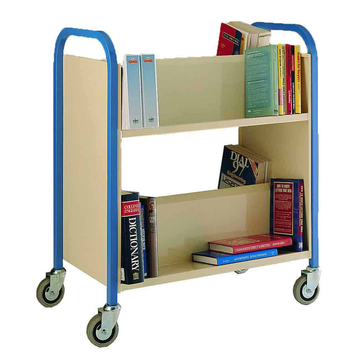 Heavy Duty Library Book Trolleys