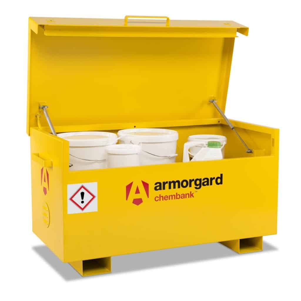 Armorgard Chembank Chemical Storage Vaults