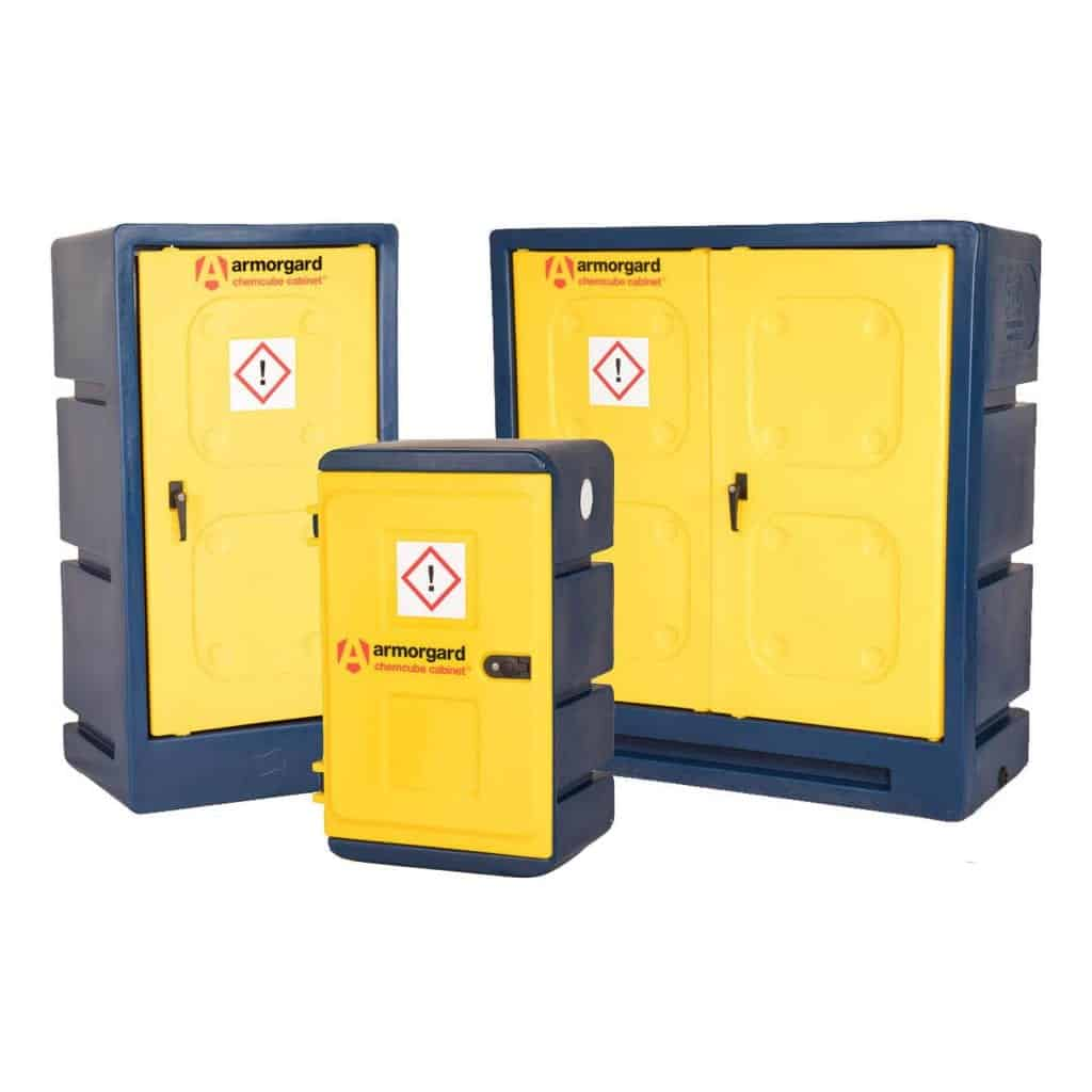 Armorgard Chemcube Chemical Storage Cabinet