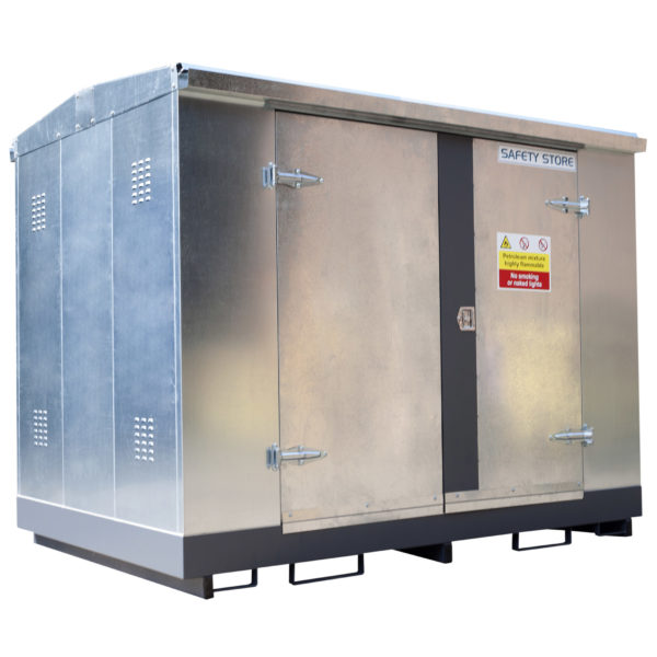 Economy Galvanised Double Door Unit