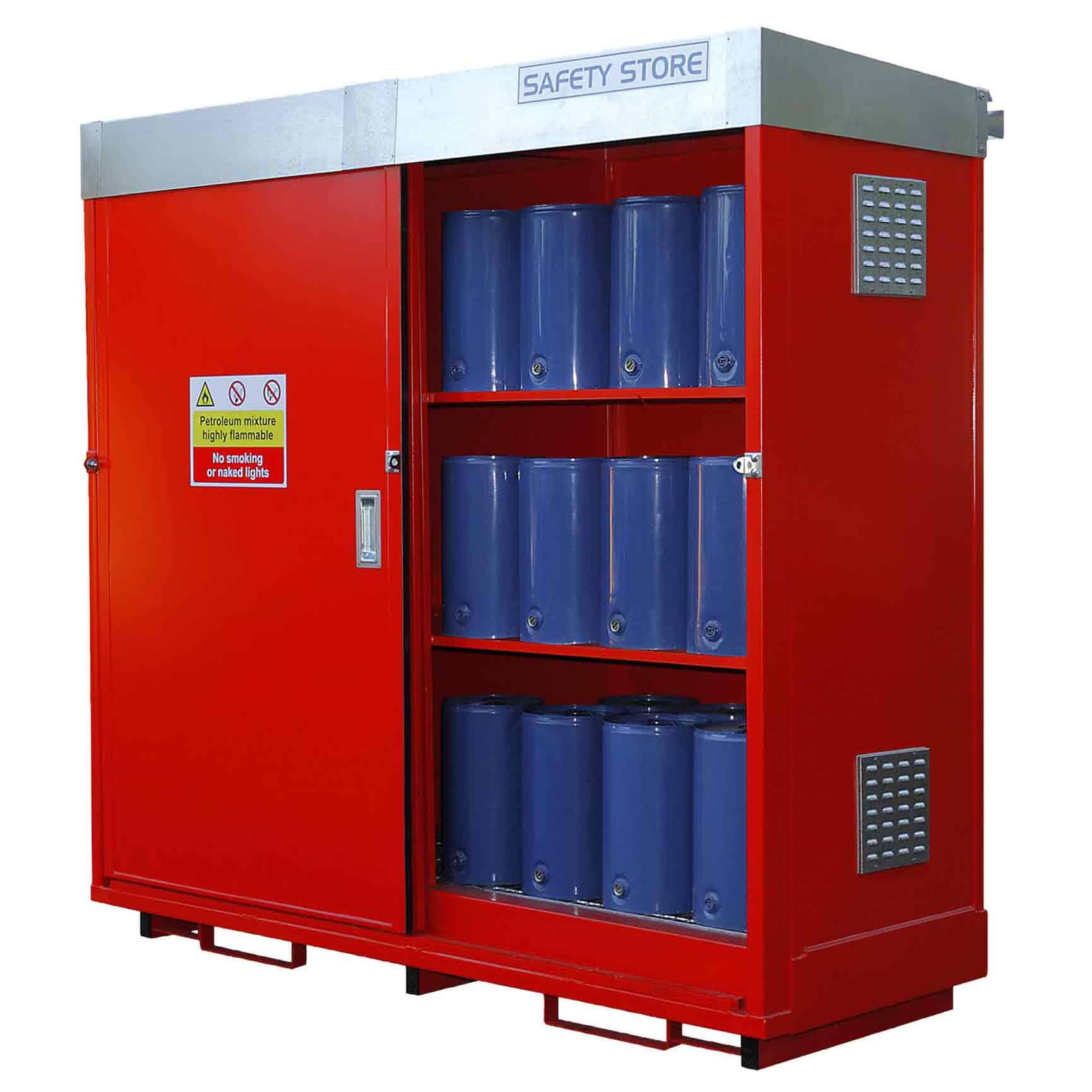 External 25 Litre Steel Drum Storage Units