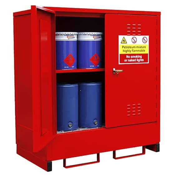 16 Drum External Petroleum Store