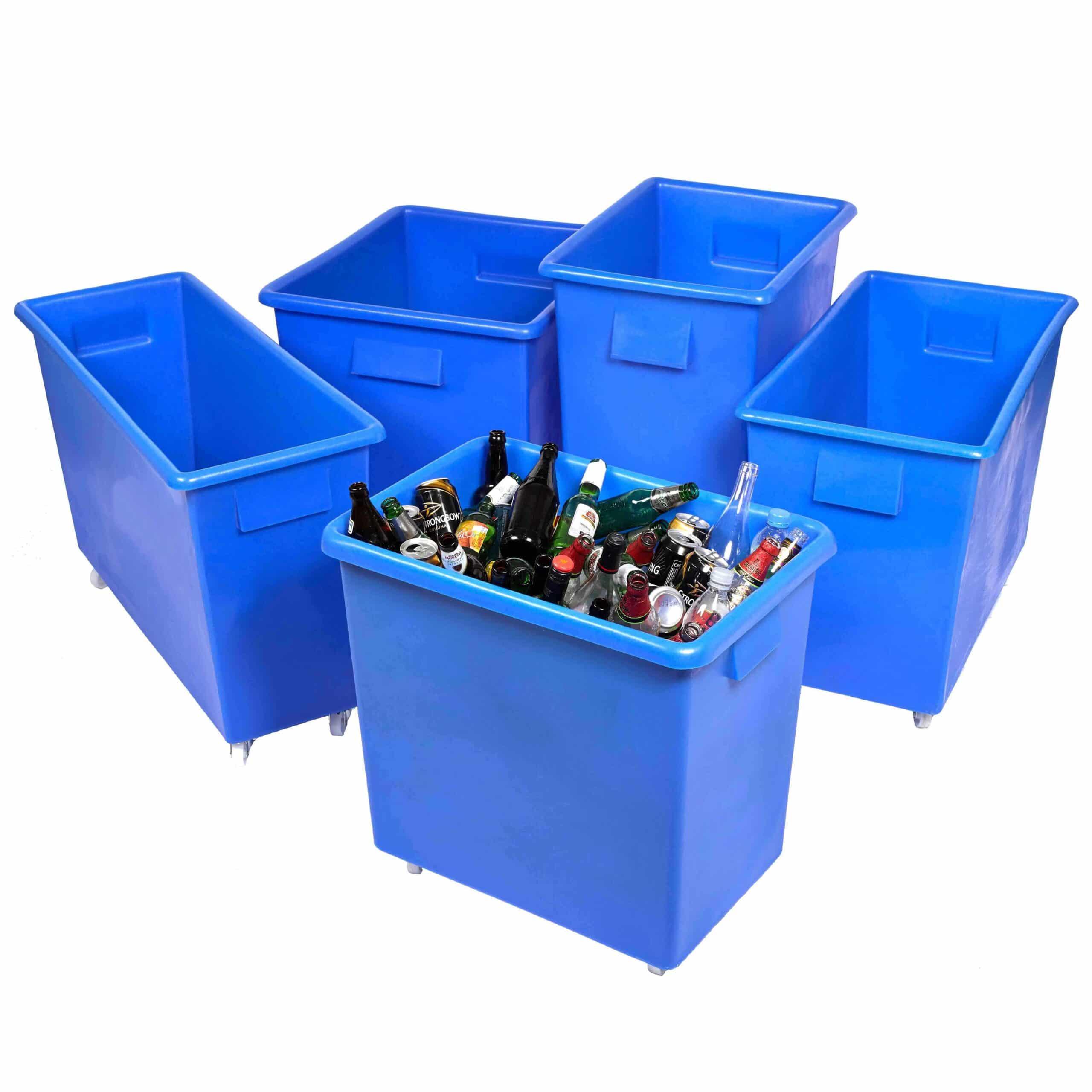 Plastic Bottle Skip Container Trucks