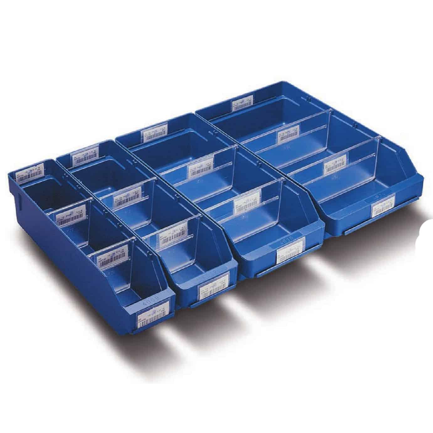 Barton Topstore Semi-Open Fronted Shelf Bin Dividers