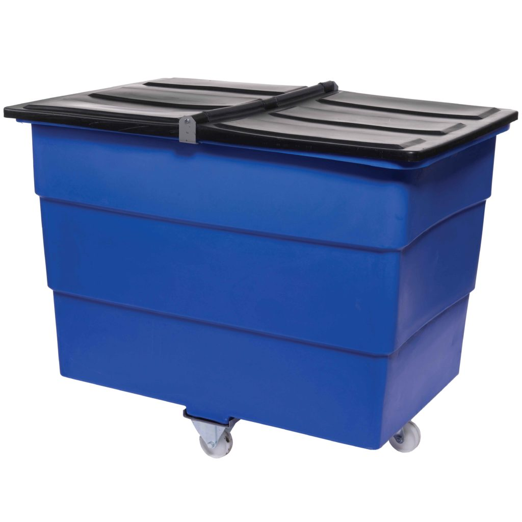 Mobile Plastic Waste Container Tidy Trucks Storage N Stuff