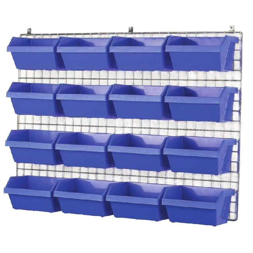 Barton Topstore Visibin Container Wall Grid Kits