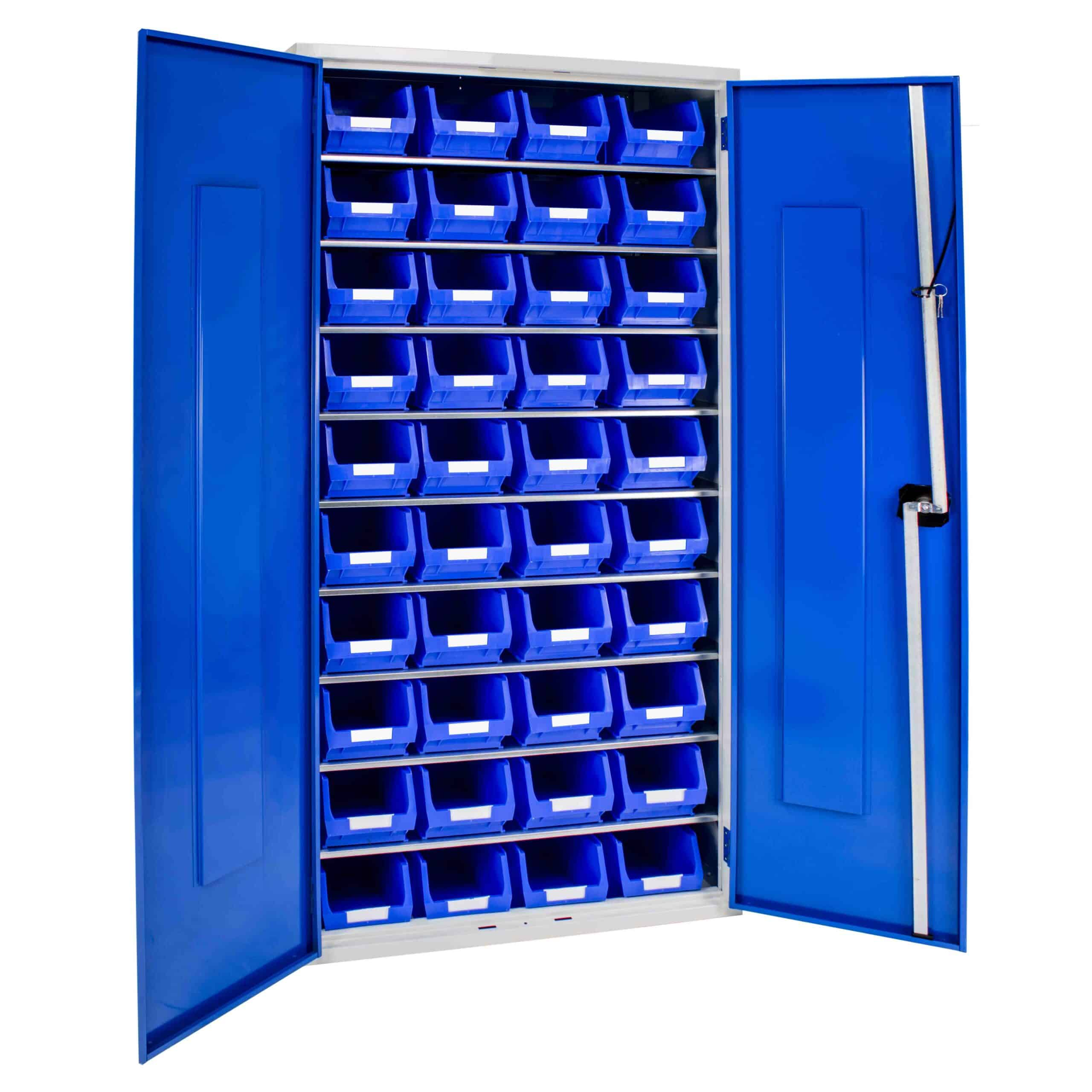 Container Cabinet with 40 TC3 Bins