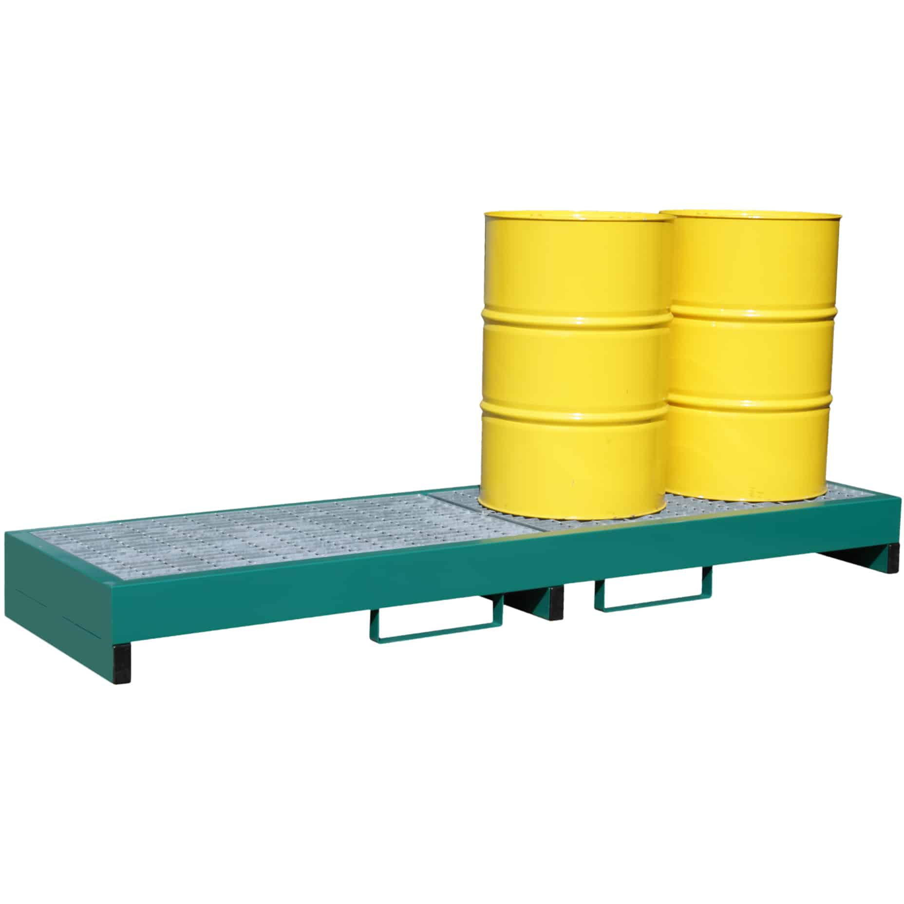Metal Inline Drum Spill Containment Pallet