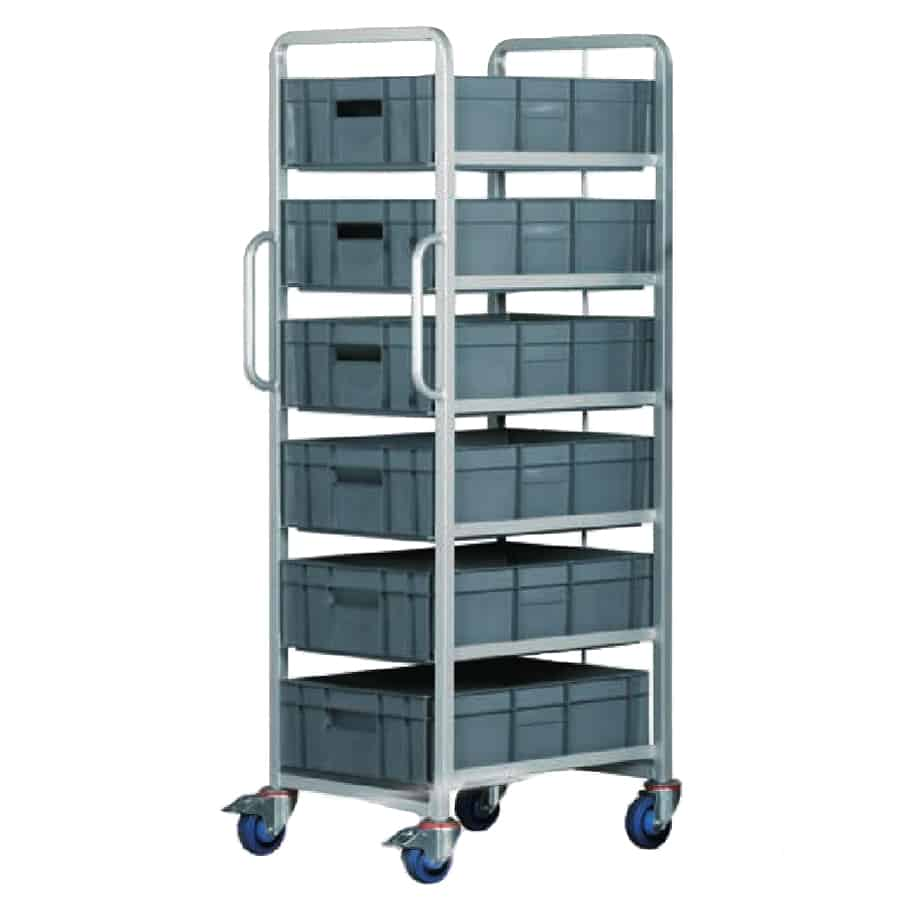 Barton Topstore Euro Container Tray Trolleys