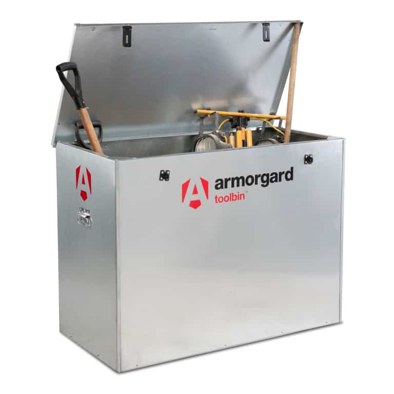 Armorgard ToolBin GB3 Galvanised Storage Box