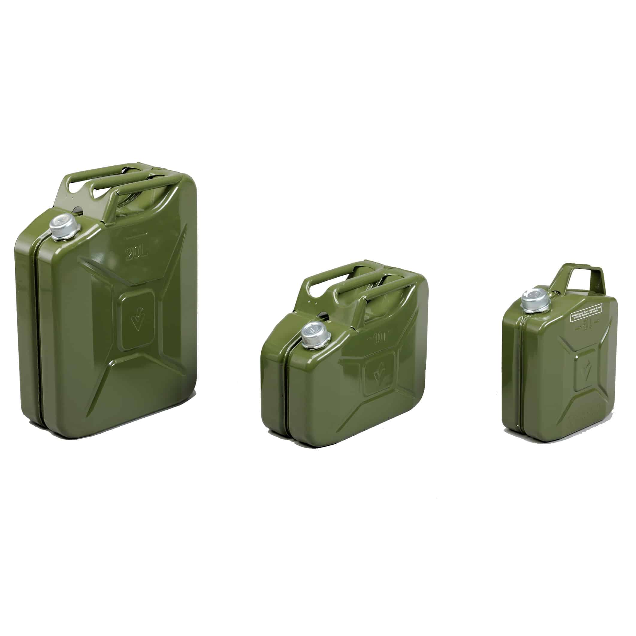 Valpro Magnetic Screw Cap Steel Jerry Can