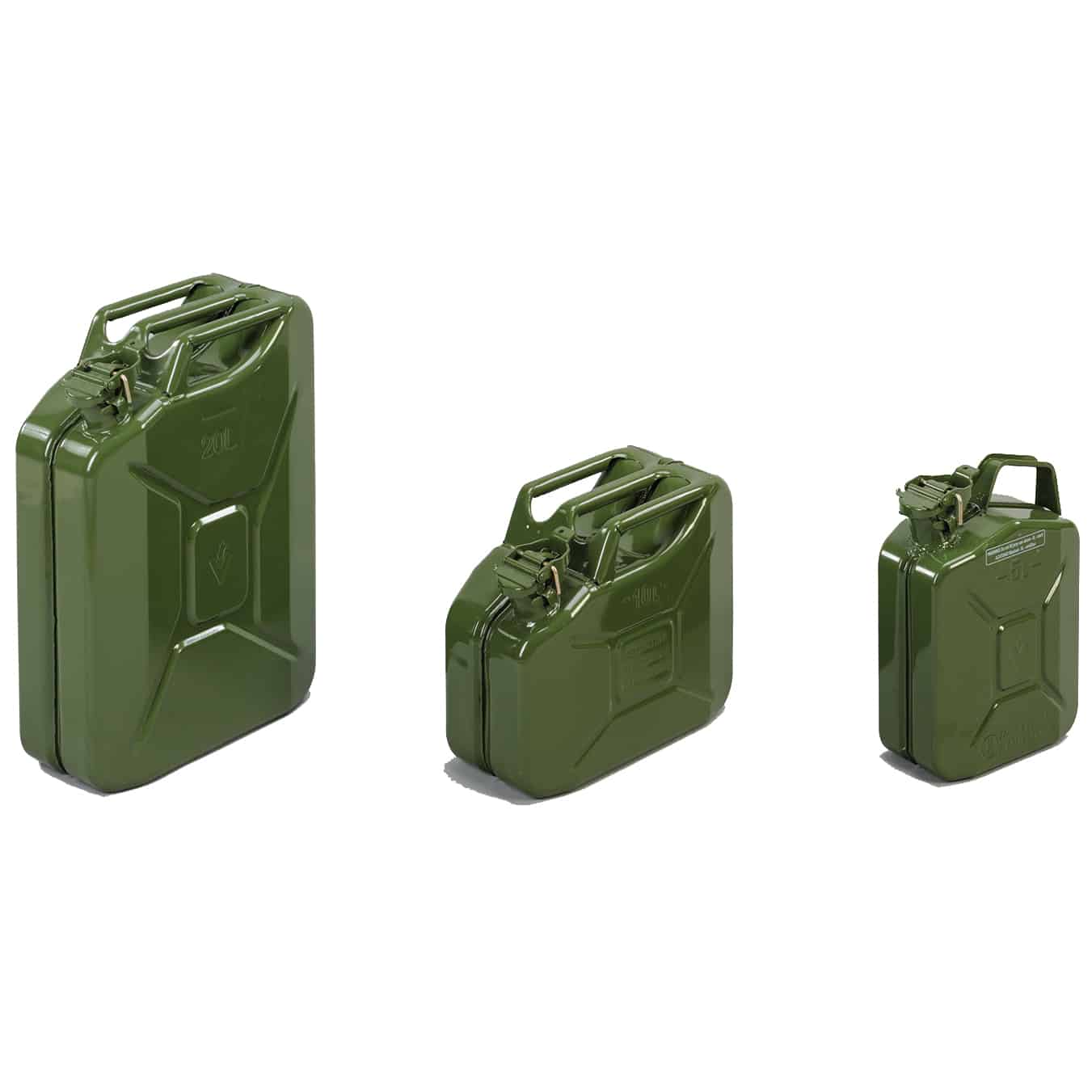 Valpro Traditional Mild Steel Jerry Cans