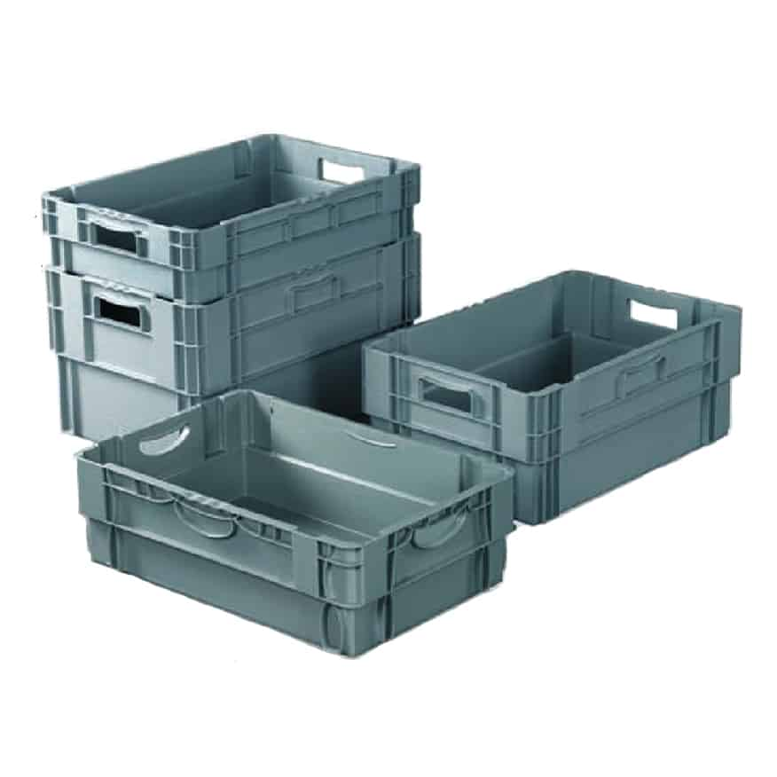 Stackable Polypropylene Euro Containers