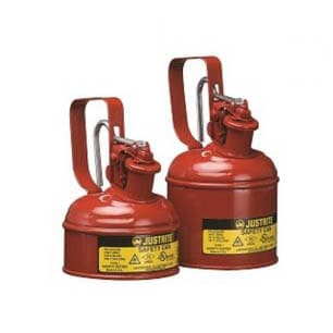 Justrite Type 1 Metal Safety Storage Cans