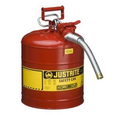 Justrite Type 2 AccuFlow Safety Dispensing Cans
