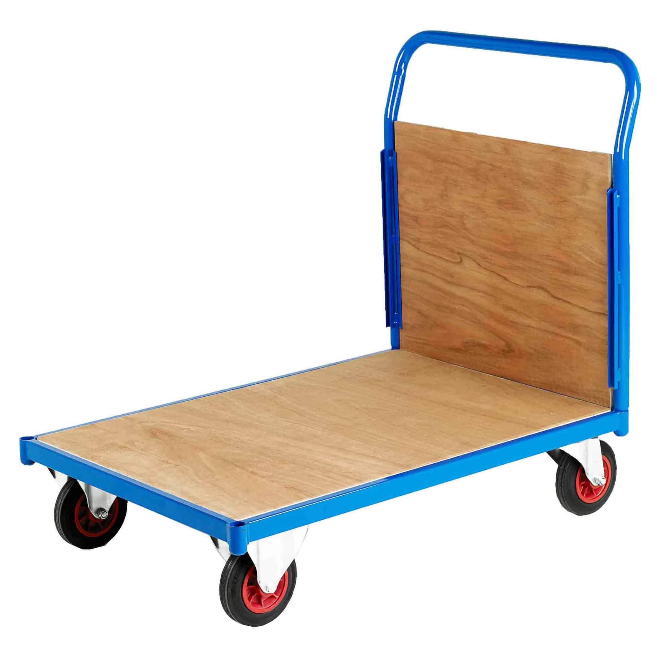 500 Single End Timber Platform Trolleys