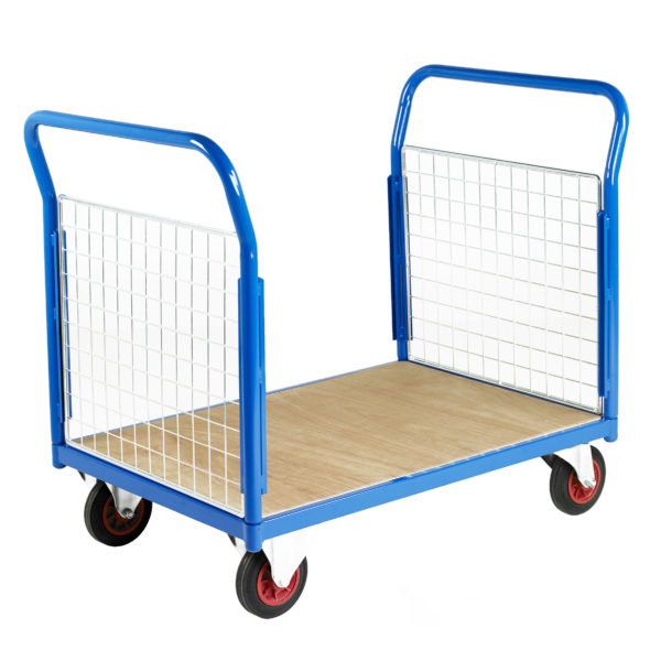 500 Double End Mesh Platform Trolleys