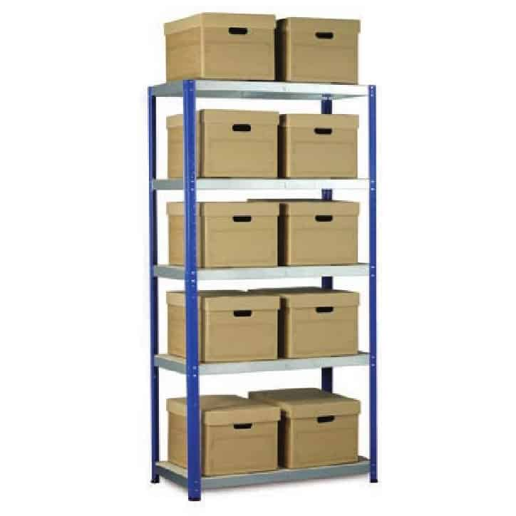 Eco-Rax Boltless Shelving Archive Kits
