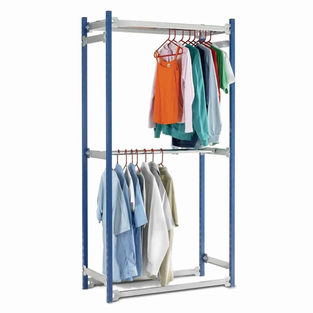 Toprax Garment Hanging Rail Racking