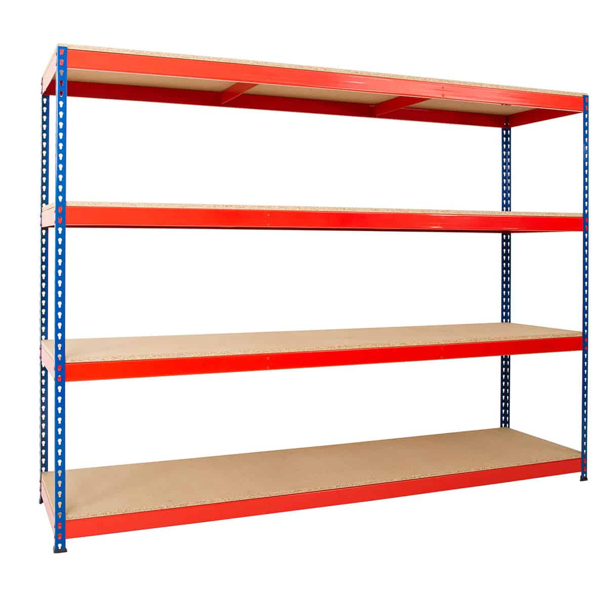 Heavy Duty Industrial Rivet Racking 4 Shelves