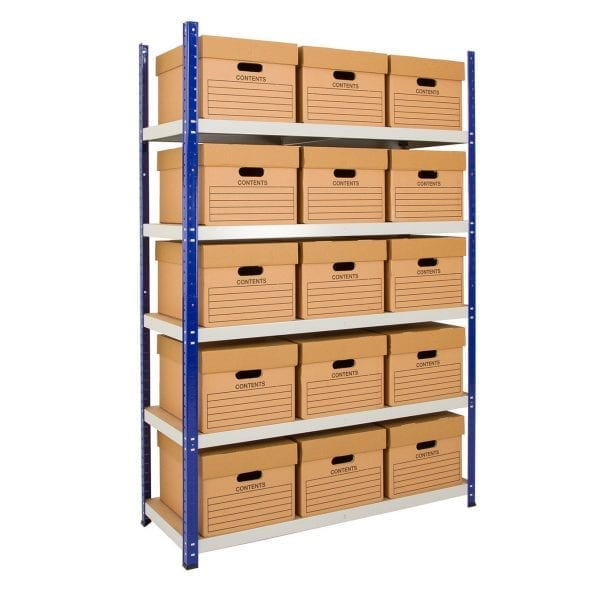 Clicka 265 Steel Archive Shelving