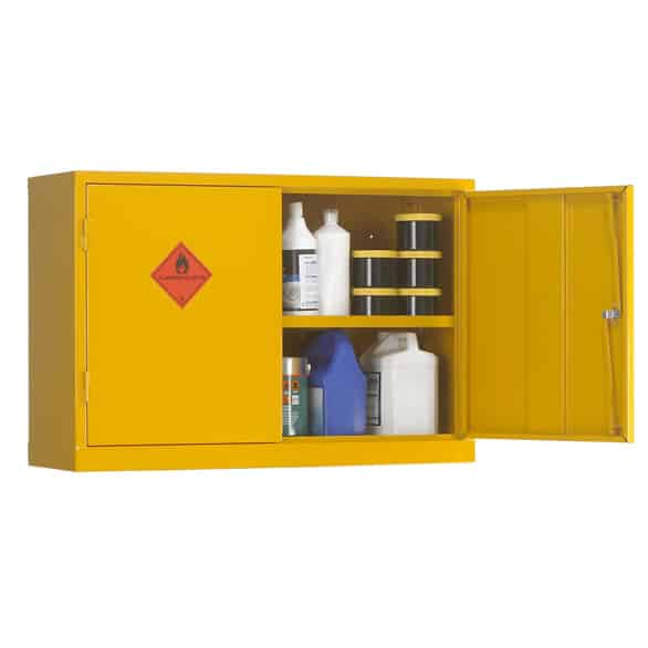 Wall Mounted Flammable Liquid Storage Cabinets