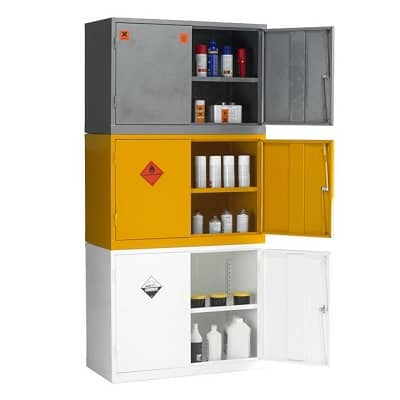 Stackable Hazardous Substance Cabinets