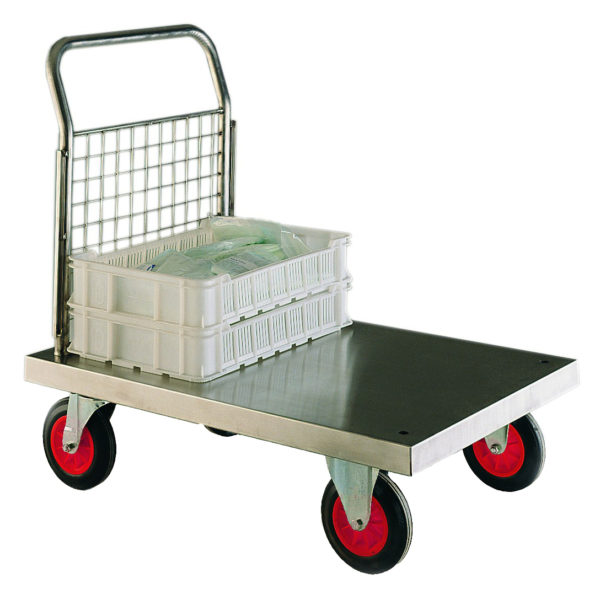 Stainless Steel Single End Platform Trolleys