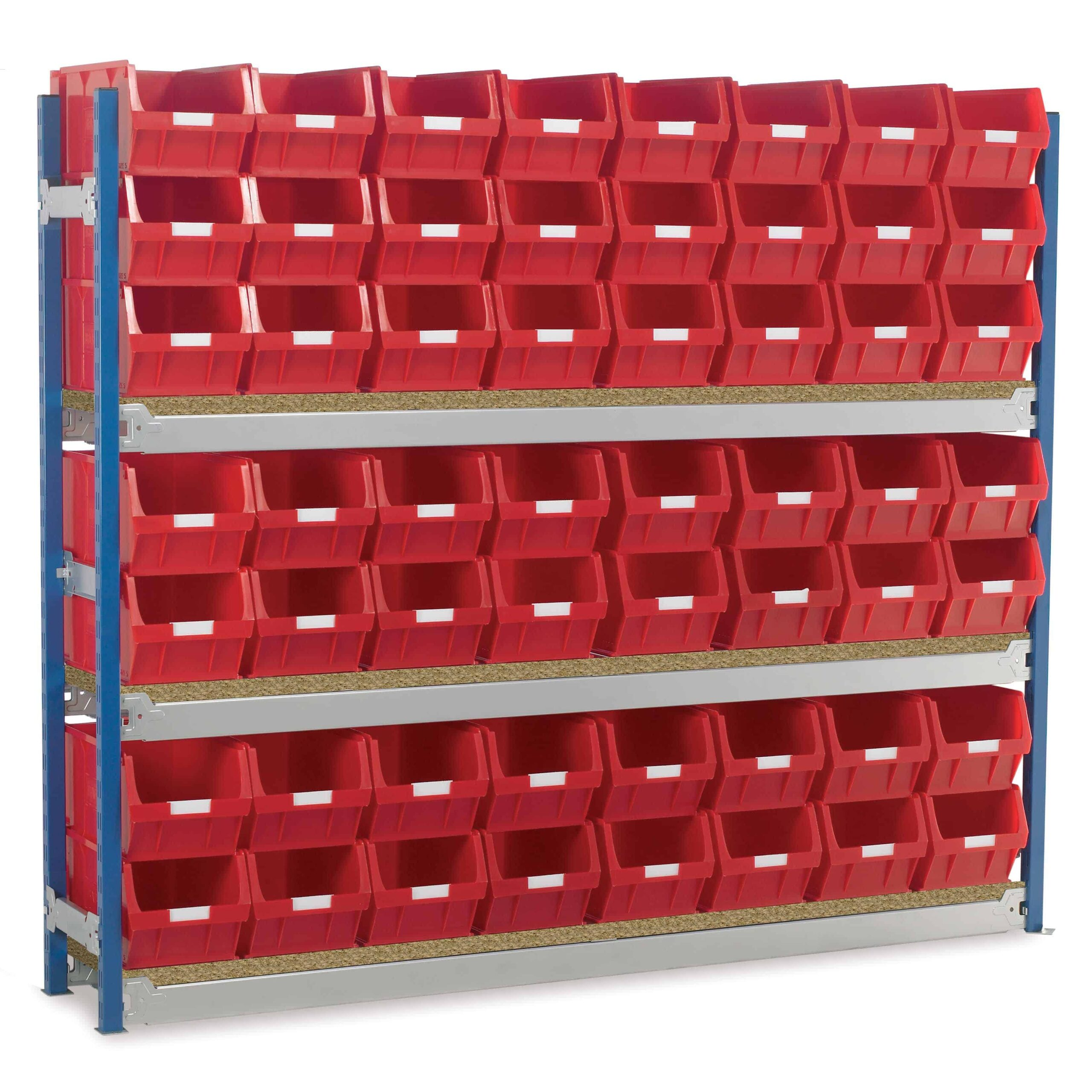 Toprax Longspan Bay Shelving TC5 Bin Kits