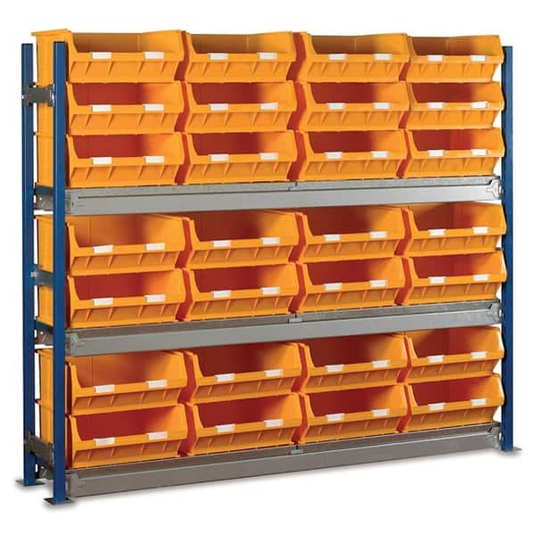 Toprax Longspan Bay Shelving TC6 Bin Kits