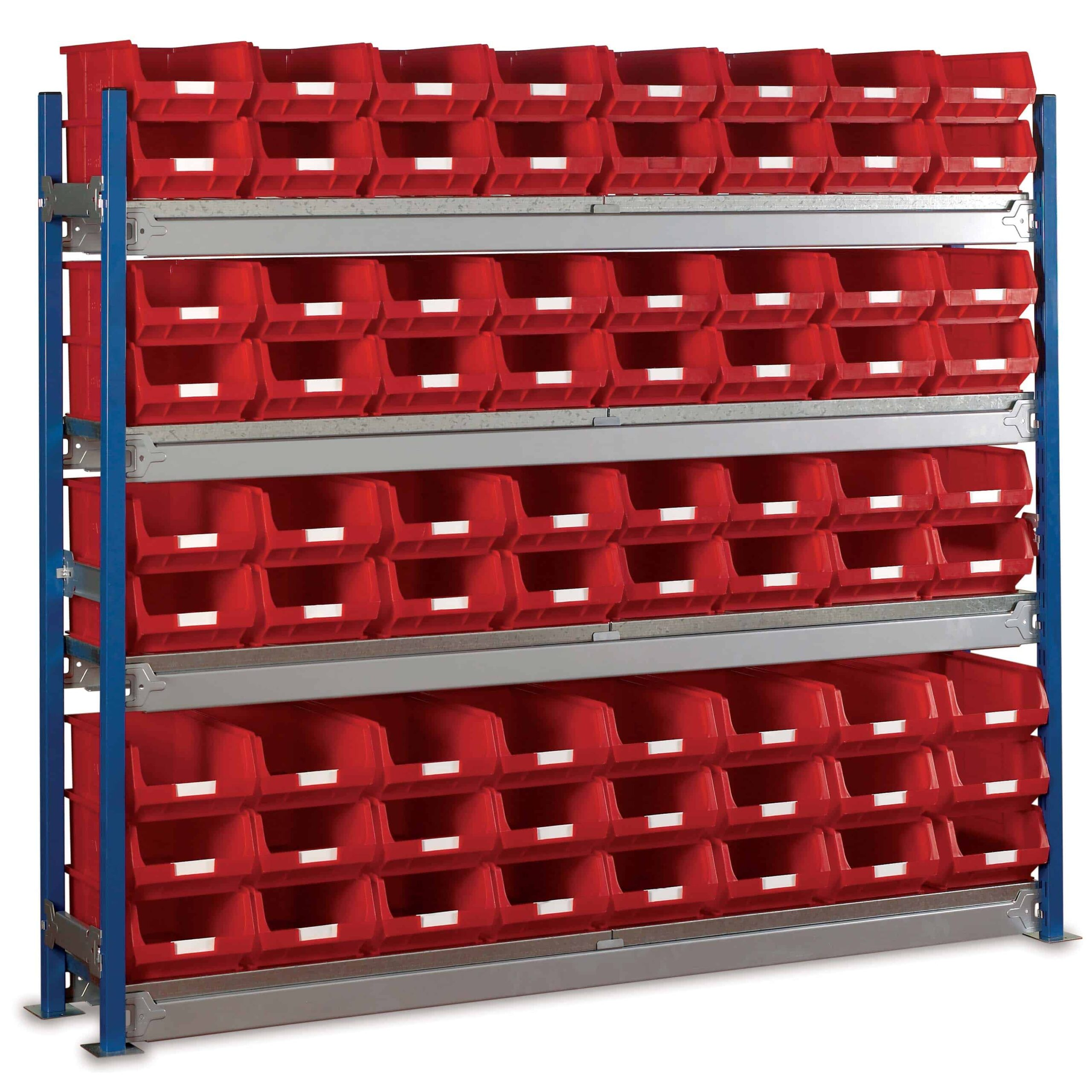 Toprax Longspan Bay Shelving TC4 Bin Kits