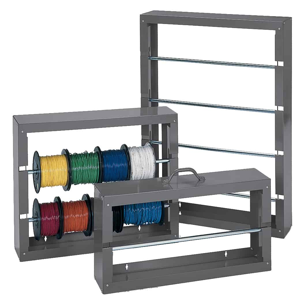 Bench Top Steel Wire Spool Racks
