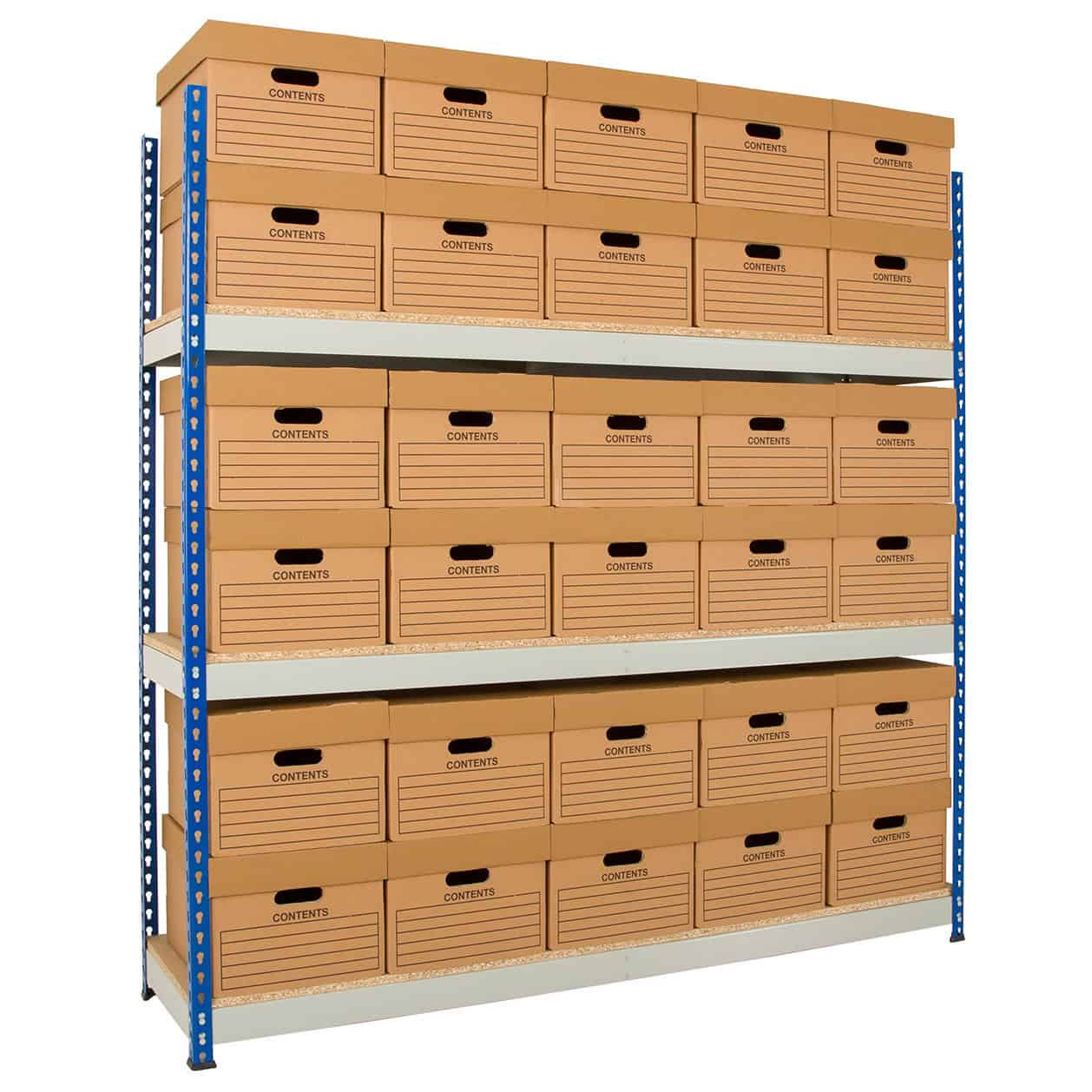 Rivet Racking Archive Shelving Storage