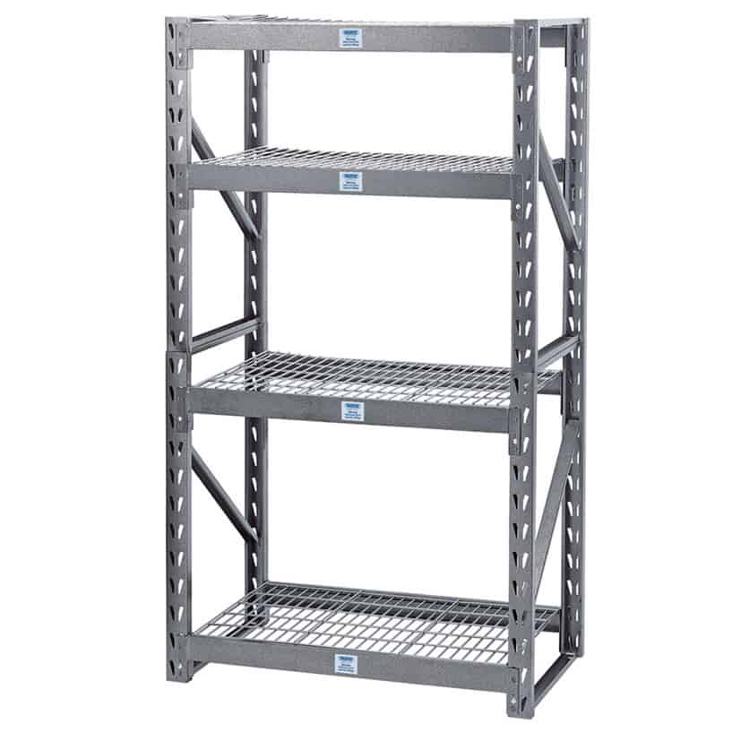 Draper Heavy Duty Steel 4 Shelving Unit