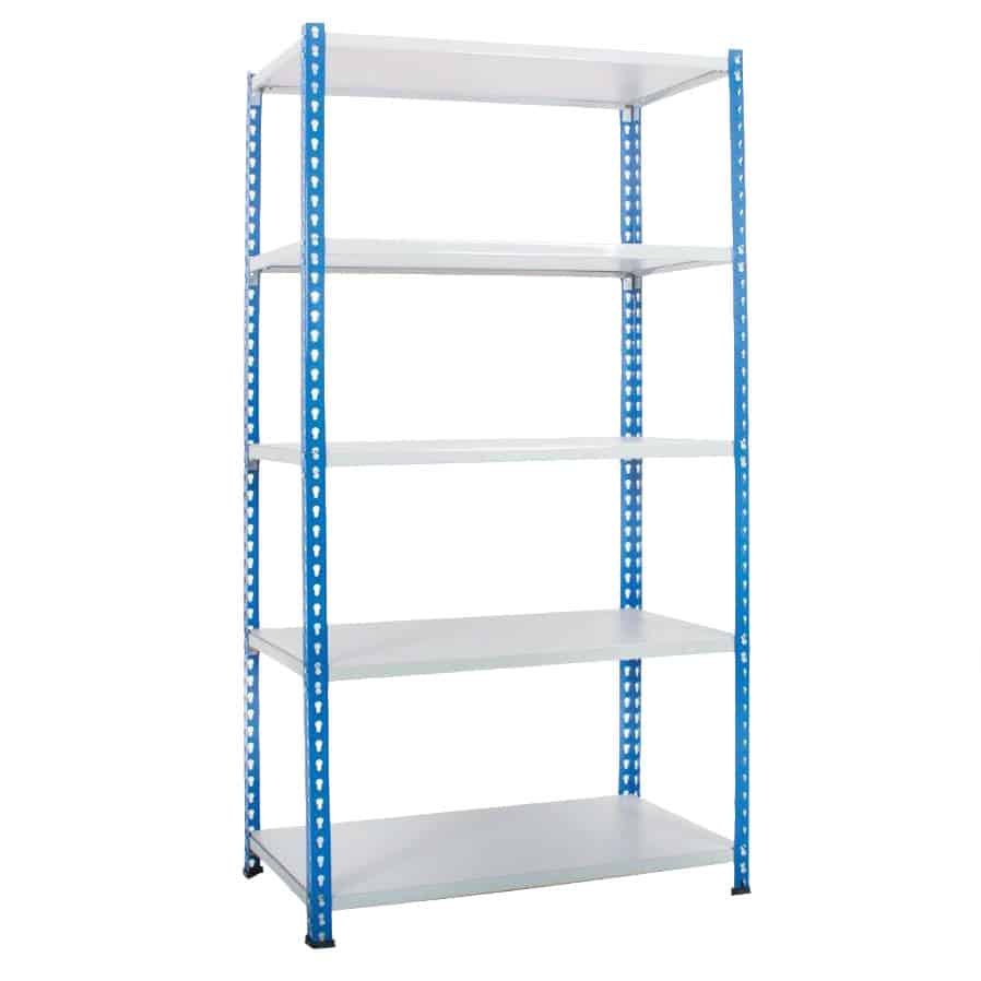 J Rivet Bolt Free Melamine Shelf Shelving