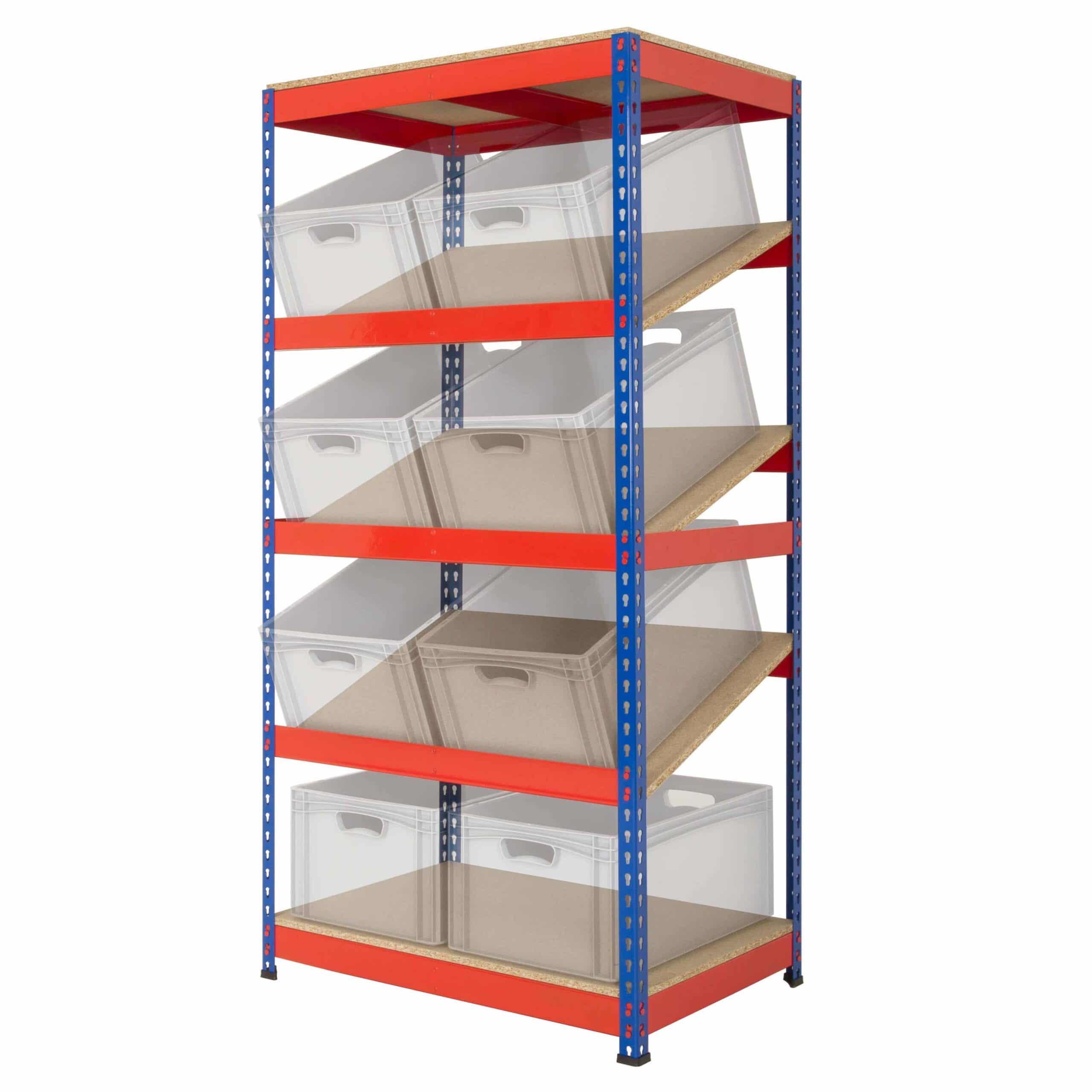 Rivet Racking Kanban Shelving Bay System Storage N Stuff