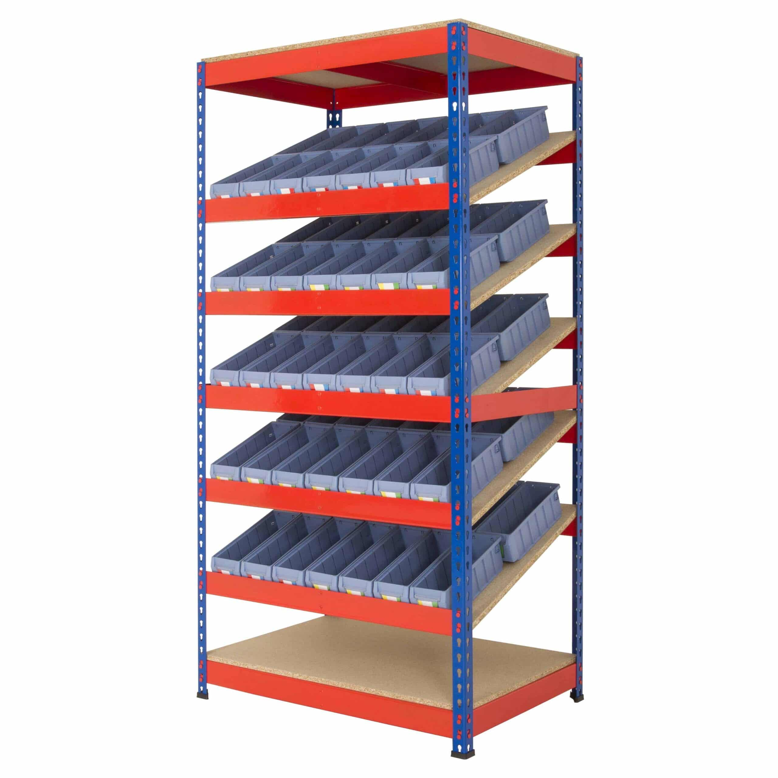 Rivet Racking Kanban Shelf Tray Shelving