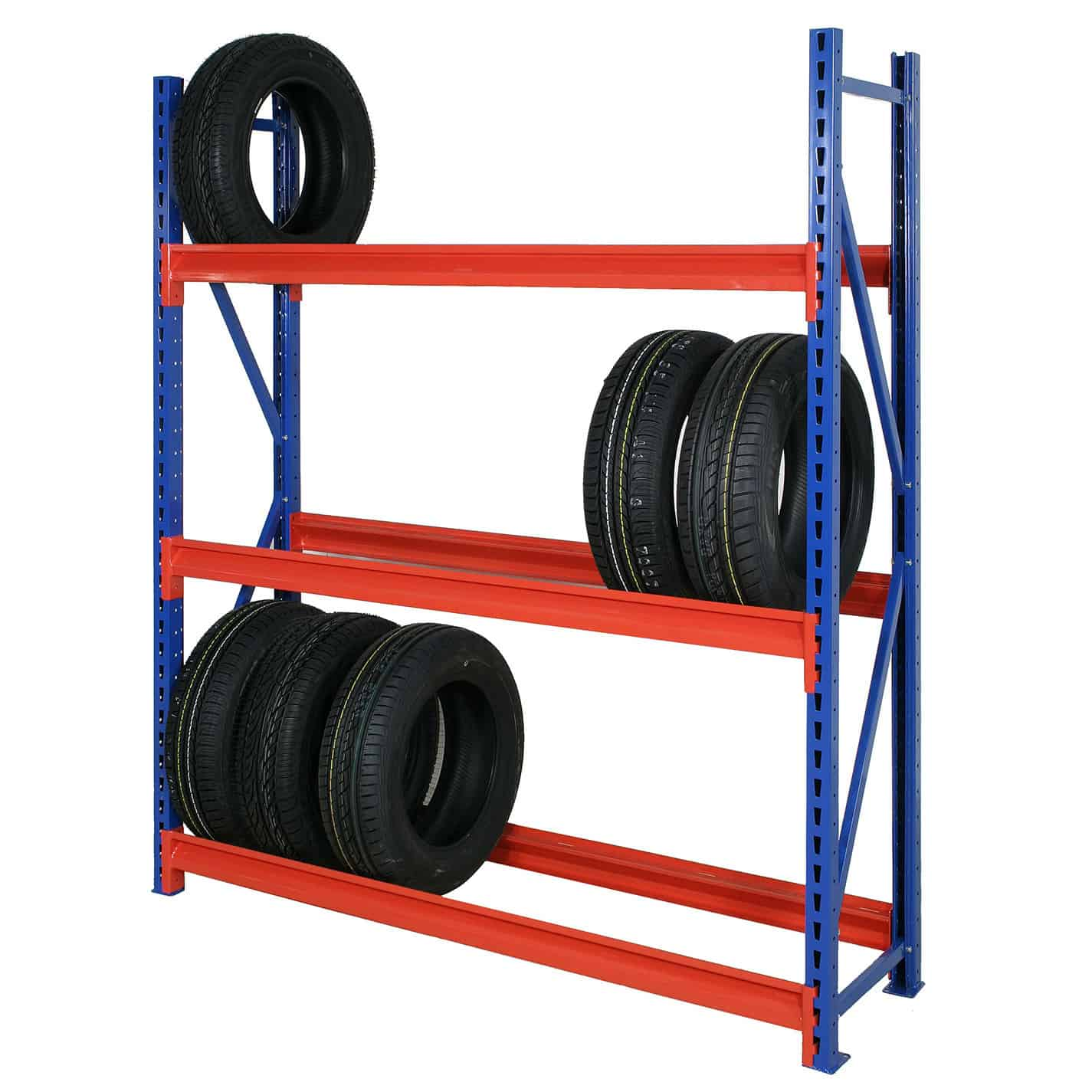 Longspan Heavy Duty Steel Tyre Racking