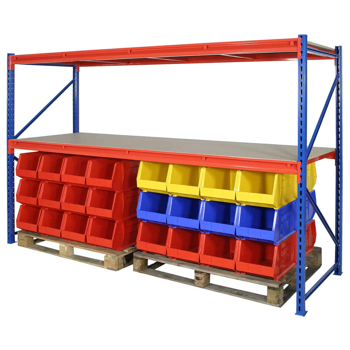 Heavy Duty Longspan Steel Shelving System