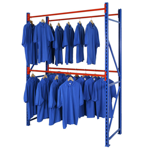 Longspan Garment Hanging Rail Racking