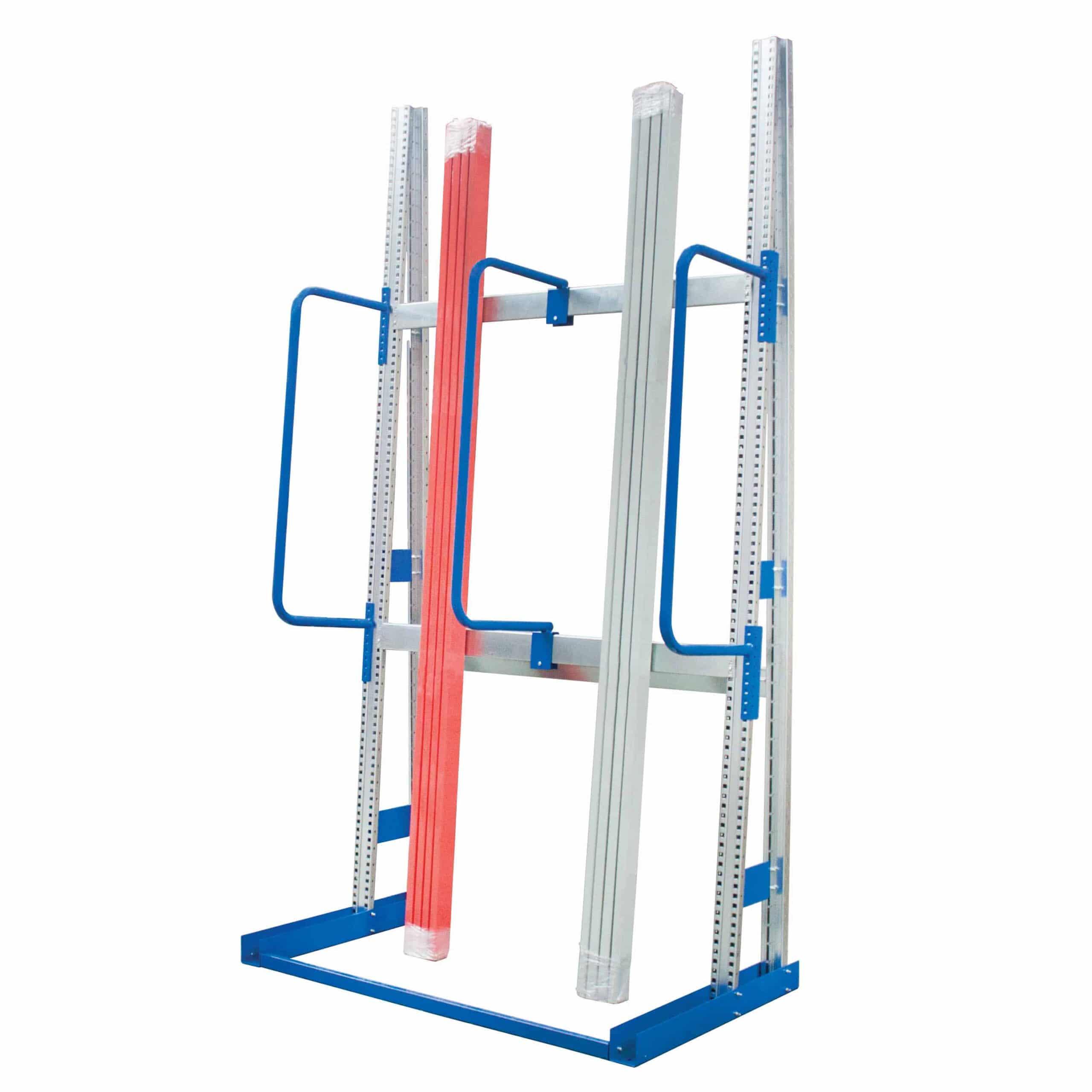 Fully Adjustable Vertical Steel Storage Racks