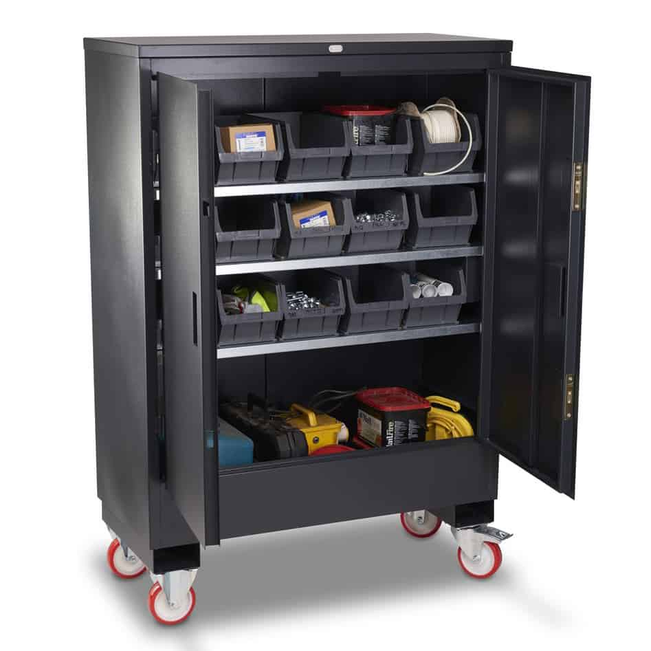 Armorgard Fittingstor Mobile Storage Cabinet