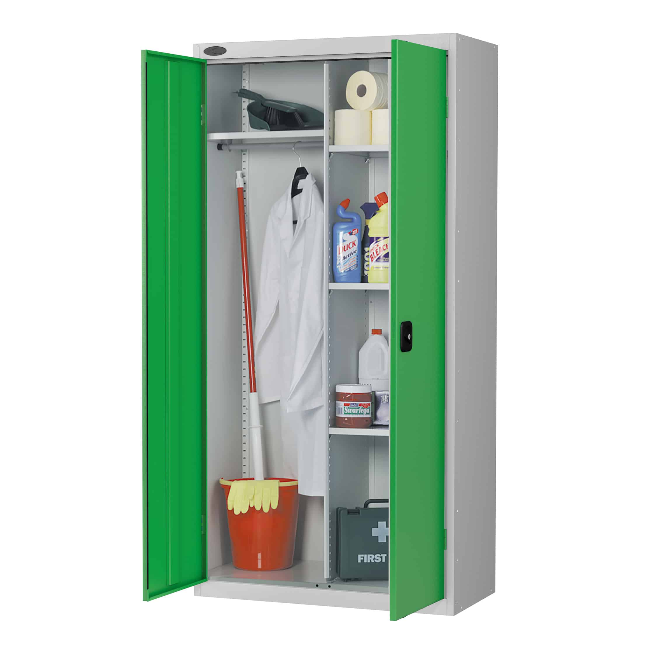 Commercial Janitors Storage Cupboards