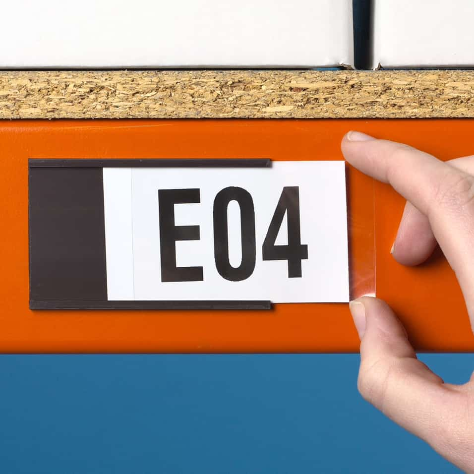 Magnetic Label Identification Holders