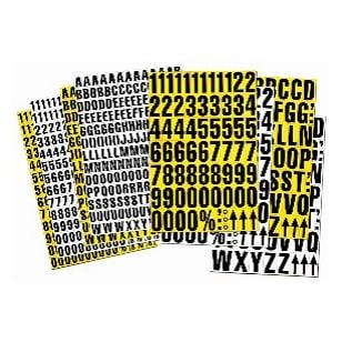 Magnetic Shelving Identification Tiles
