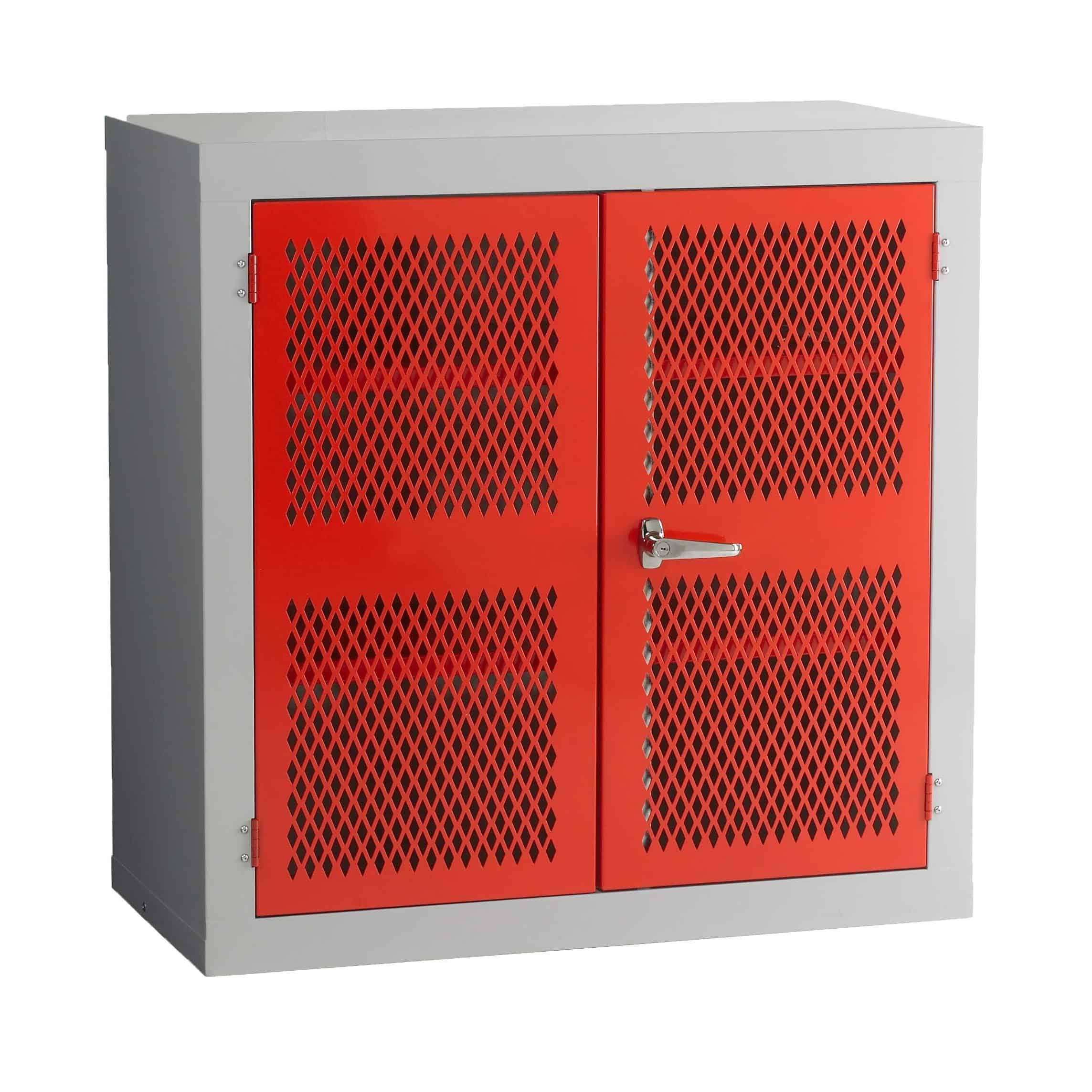 Mesh Door Steel Storage Cabinets Storage N Stuff