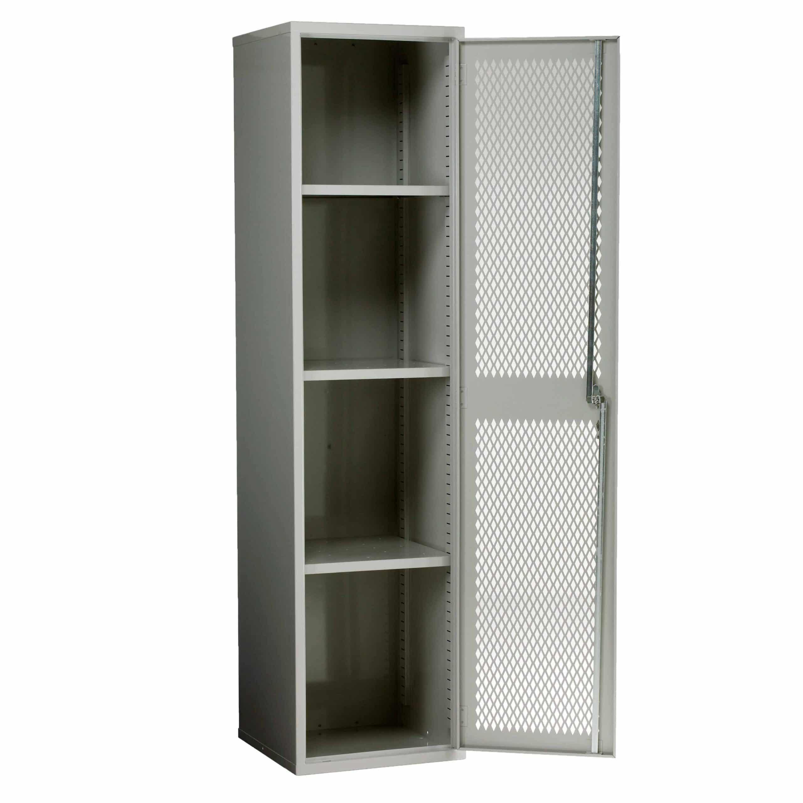 Mesh Door Slim Cabinet